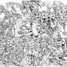 Pencils by Paolo Pantalena, Inks by Walden Wong